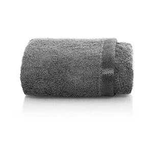 Šedý ručník z bambusových vláken Maison Carezza Firenze, 30 x 50 cm