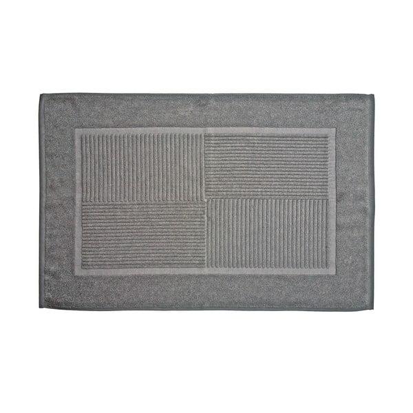 Koupelnová předložka, 80x50 cm, šedá