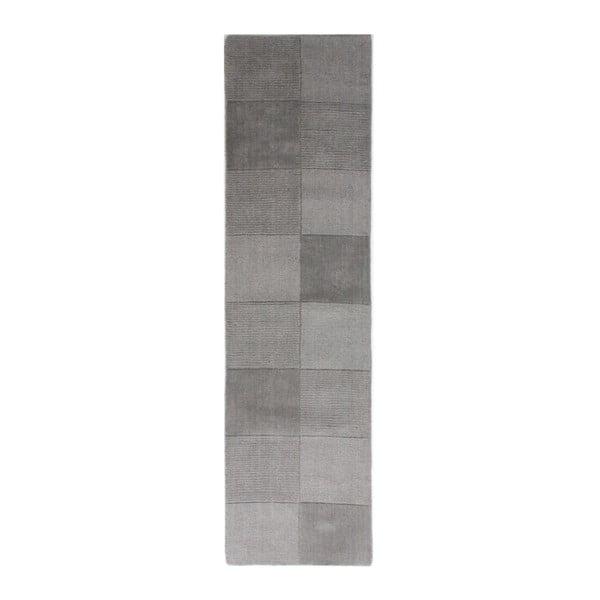 Vlněný běhoun Flair Rugs Sqaures Jon,60x230cm