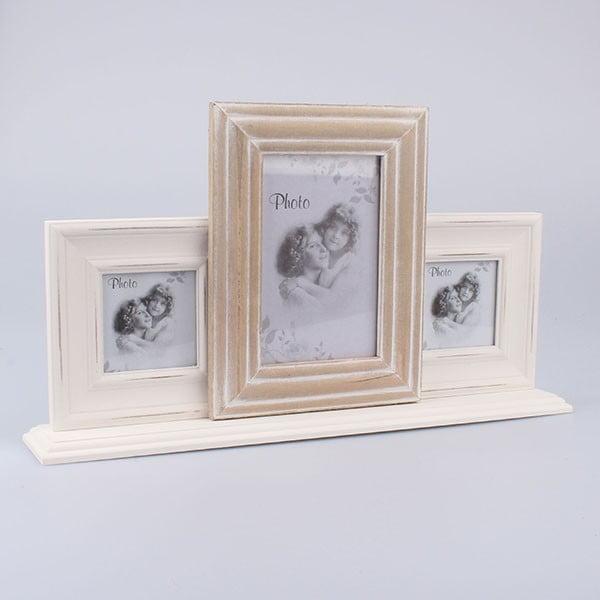 Fotorámeček na 3 fotografie Vintage Home, 40x22,5 cm