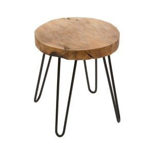 Stolička z teakové dřeva Santiago Pons Kiel
