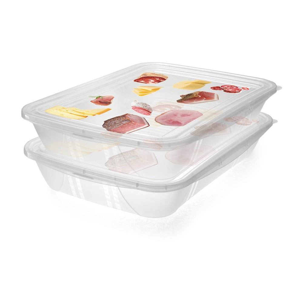 Sada 2 krabiček na potraviny Snips Classic, 1,5 l