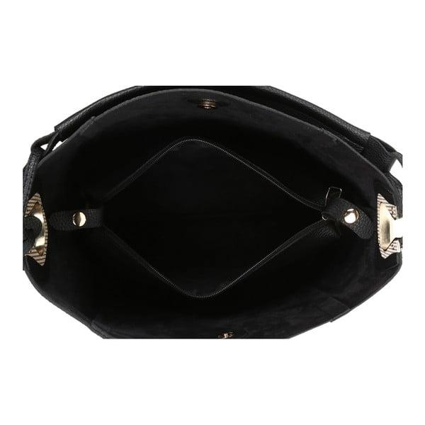 Geantă din piele ecologică Beverly Hills Polo Club Rita, negru