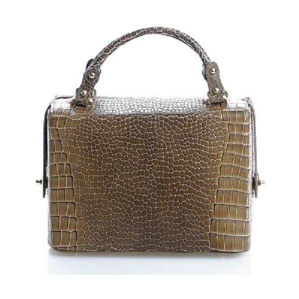 Kožená kabelka Emilie, olivová