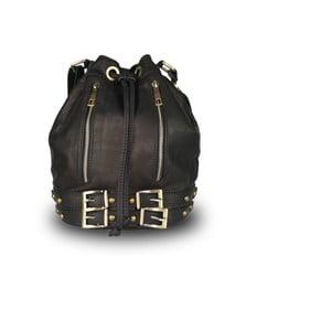 Černá kabelka z pravé kůže JOHN FISH Weez