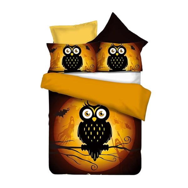 Povlečení z mikrovlákna DecoKing Owls, 200x220cm