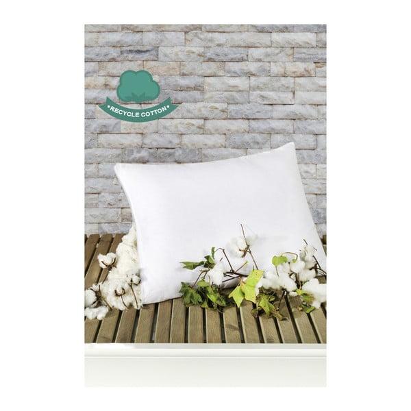 Biely bavlnený vankúš Puro Blanco Mentejo, 50 × 70 cm