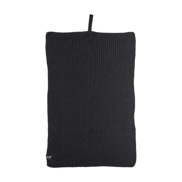 Merro fekete pamut konyharuha, 38 x 50 cm - Zone