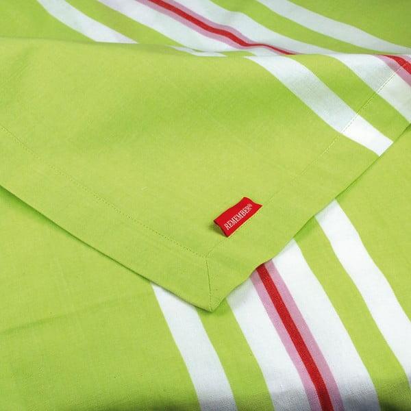 Běhoun na stůl Green Stripes