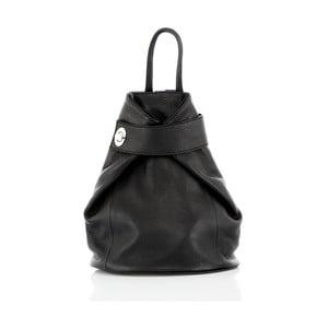 Černý kožený batoh Glorious Black Stella