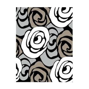 Šedý koberec Tomasucci Rose, 140x190cm