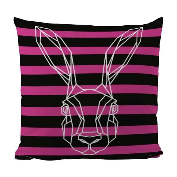 Polštář Bunny In Stripes, 50x50 cm
