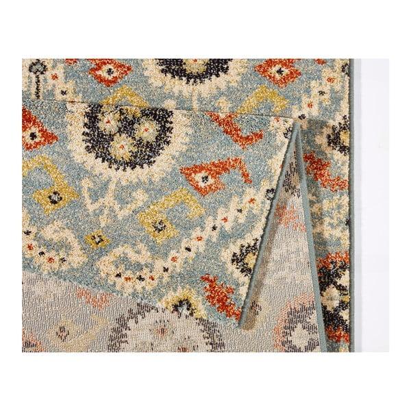 Modrý koberec Mint Rugs Diamond Ornament, 133x195cm