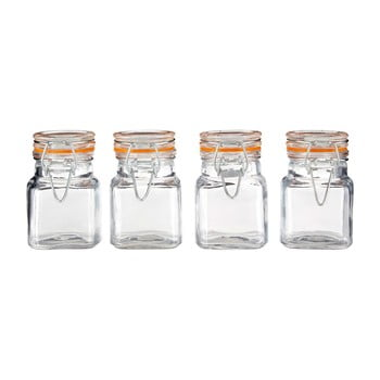 Set 4 recipiente pentru condimente Premier Housewares, 90 ml de la Premier Housewares