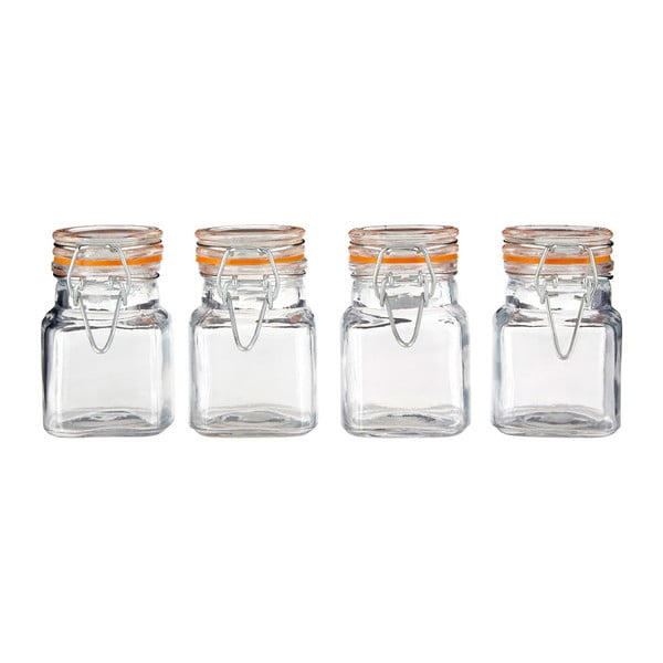 Set 4 recipiente pentru condimente Premier Housewares, 90 ml