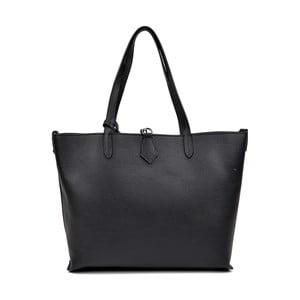 Černá kožená kabelka Isabella Rhea Pietro
