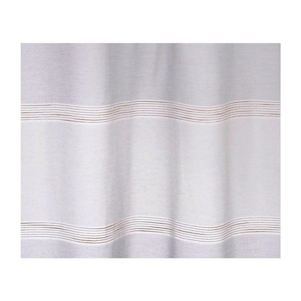 Závěs Long Island White Grey, 140x245 cm