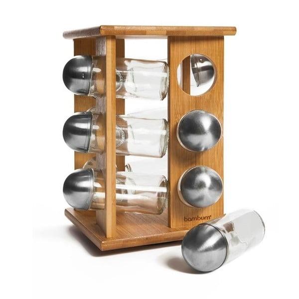 Fotina állvány 12 db fűszertartóval - Bambum