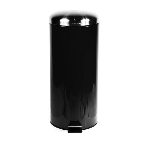 Odpadkový koš Sabichi Pedal Black, 30 l