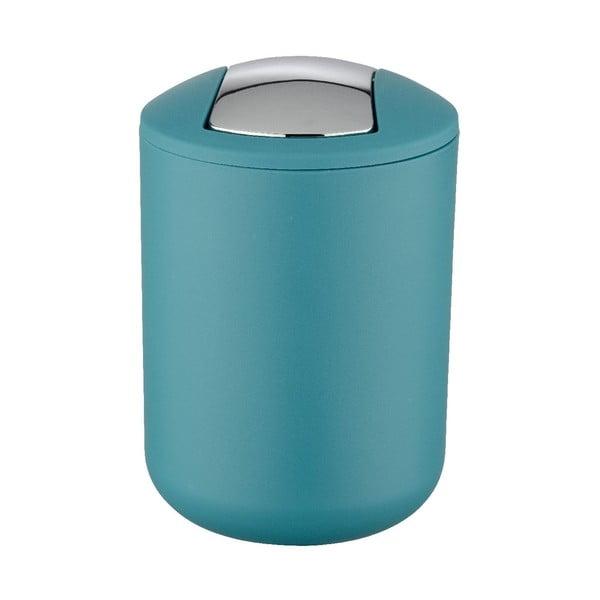 Petrolejově modrý odpadkový koš Wenko Swing Petrol S