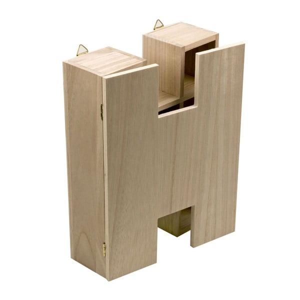 Nástěnný box Letter H