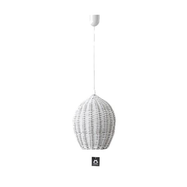 Stropní světlo Egg, 22 cm, bílé
