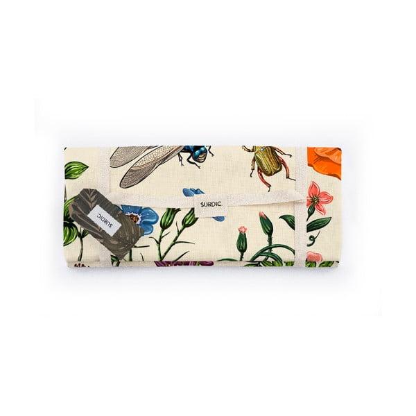 Koc piknikowy Surdic Manta Picnic Tierra Bella z motywem przyrodniczym, 140x170 cm