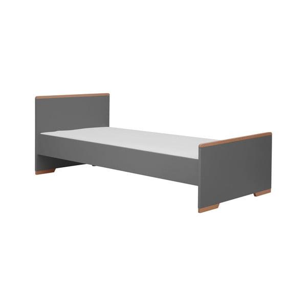 Tmavě šedá dětská postel Pinio Snap, 205 x 96 cm