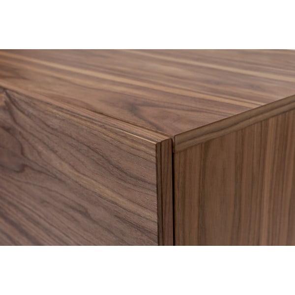 Comodă în decor de lemn de nuc Woodman Flop, 65 x 120 cm, maro