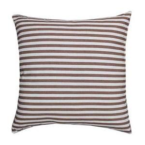 Polštář Stripe Brown, 45x45 cm