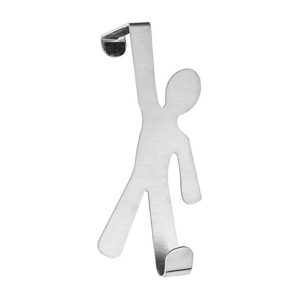Závěsný háček na dveře ve stříbrné barvě Wenko Hook Boy