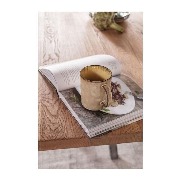 Jídelní stůl z dubového dřeva Kare Design Roots, 220 x 100 cm