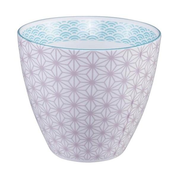 Star/Wave lila-fehér bögre, 350 ml - Tokyo Design Studio