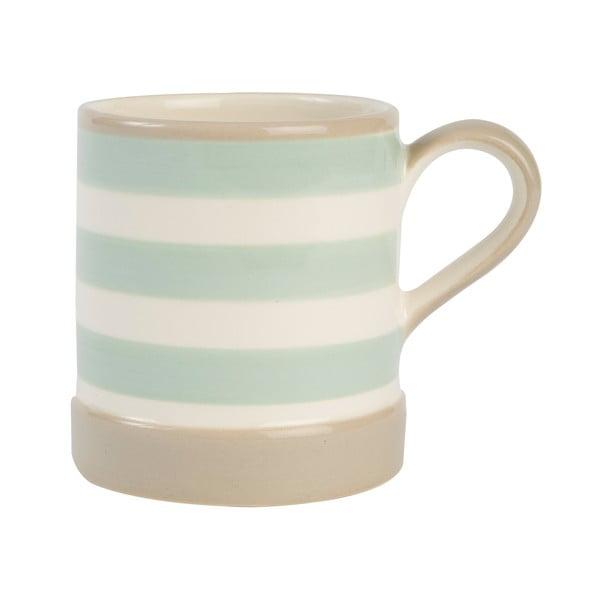 Hrnek T&G Woodware Mint Stripe, 400 ml