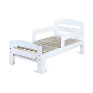 Bílá rostoucí dětská postel YappyKids Grow, 140-190 x 70 cm