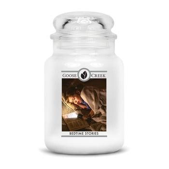 Lumânare parfumată în recipient de sticlă Goose Creek Bedtime Stories, 150 ore de ardere imagine