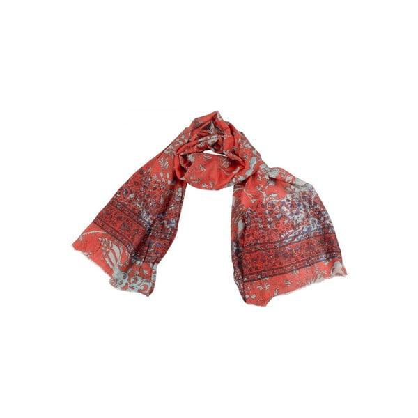 Šátek s příměsí hedvábí Shirin Sehan - Moana Salsa