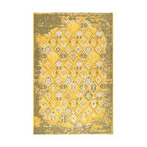 Žlutozelený oboustranný koberec Halimod Maleah, 125 x 180 cm