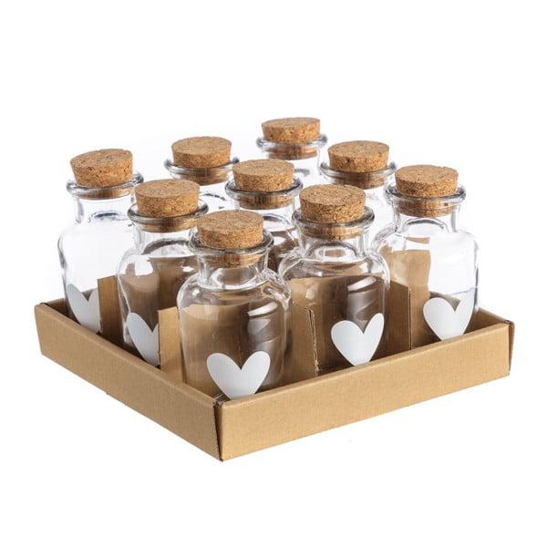 Set 9 sticluțe Unimasa Corcho, 175 ml