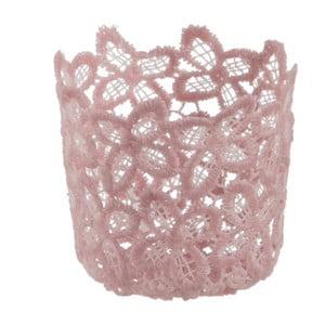 Sfeșnic de sticlă Crochet