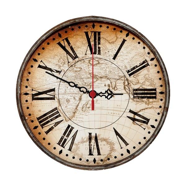 Nástěnné hodiny Around The World, 30 cm