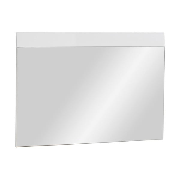 Bílé nástěnné zrcadlo Germania Adana, 89x63cm
