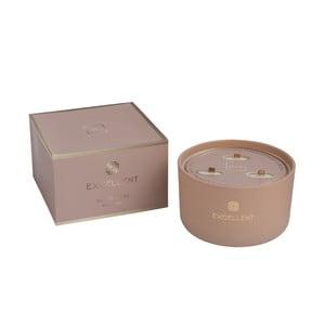 Vonná svíčka J-Line Golden Honey, 50 hodin