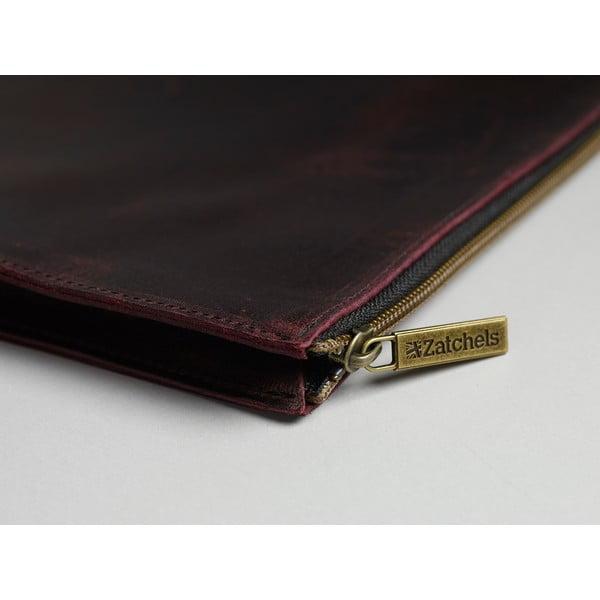 Pánská kožená kapsa na dokumenty Damson, 37x26 cm