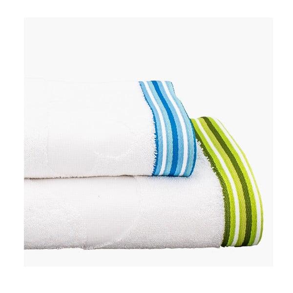 Sada 2 ručníků Little Birds, 50x100 cm a 70x140 cm