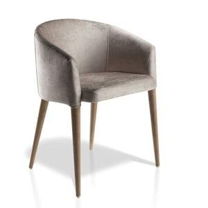 Jídelní židle s podnožím z ořechového dřeva Ángel Cerdá Josefina