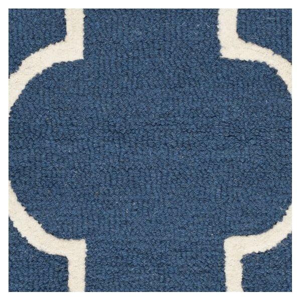 Koberec Everly 91x152 cm, modrý