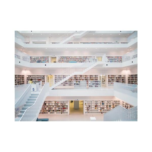 Velkoformátová tapeta V Knihovně, 315x232 cm
