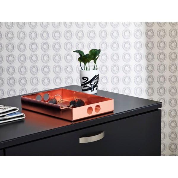 Podnos Tray Copper, 22x31 cm