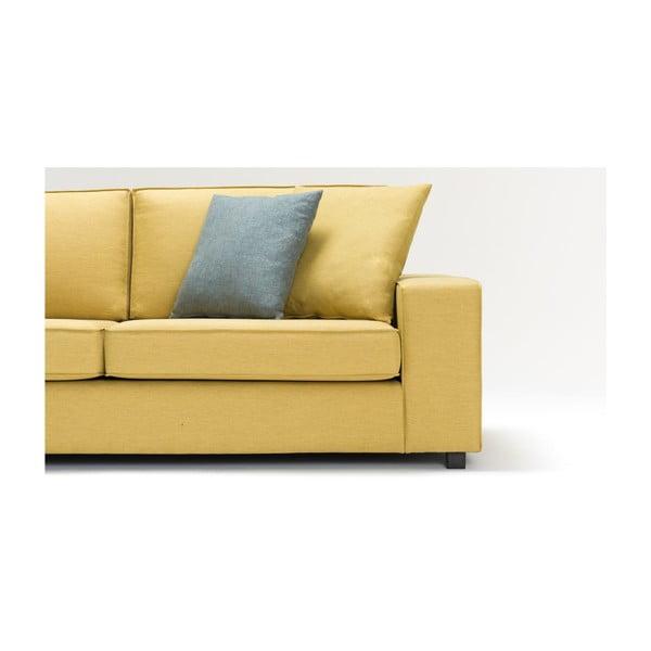 Žlutá trojmístná pohovka Balcab Home Doty